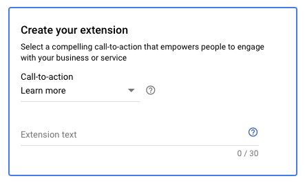4How to create your extension