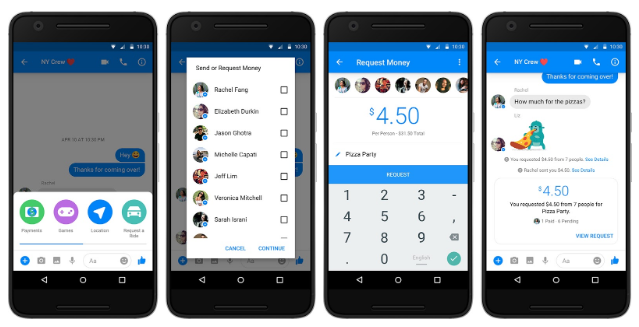 facebook messenger payments 1
